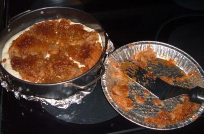 pecan pie in cheesecake
