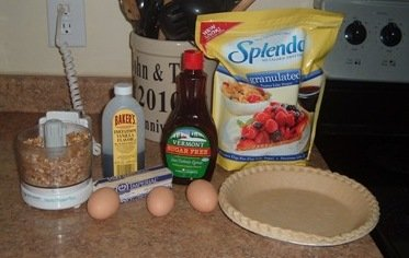 sugar free pecan pie ingredients